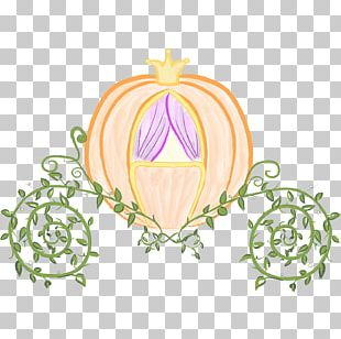 Cinderella Prince Charming Pumpkin Carriage PNG