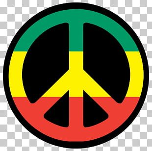 T-shirt Rastafari Peace Symbols PNG