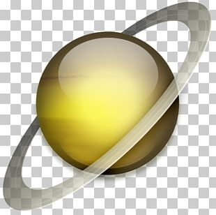 Saturn Planet ICO Icon PNG
