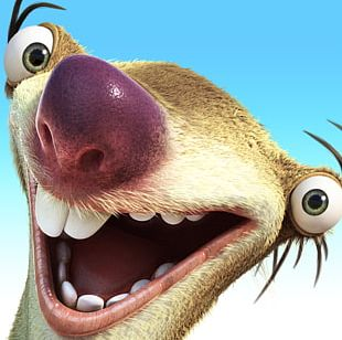 Sid Ice Age Adventures Sloth Manfred Scrat PNG