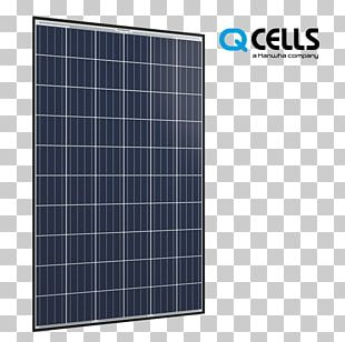 Solar Panels Solar Energy Photovoltaics Hanwha Q CELLS Co. PNG