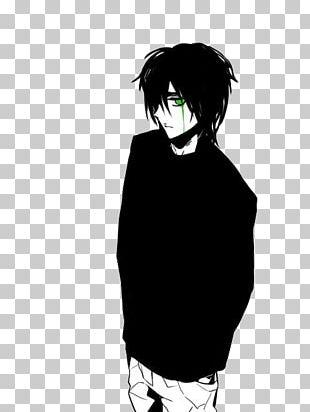 Black Hair Thor Mangaka Anime Character PNG