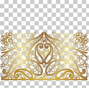 Euclidean Gold Computer File PNG