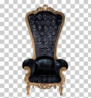 Coronation Chair Table Throne PNG
