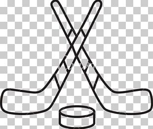 Hockey Puck Ice Hockey Stick Hockey Sticks PNG