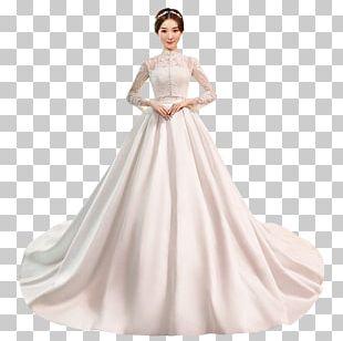 Wedding Dress Gown Wrap Dress PNG