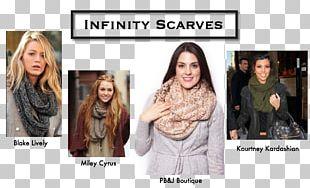 Scarf Fashion Outerwear Neck Socialite PNG