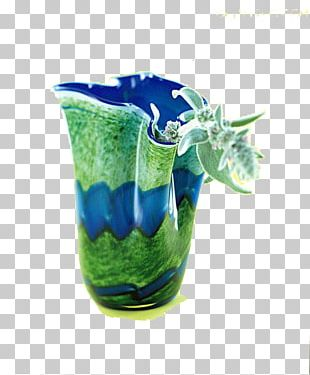 Blue-green Cup PNG