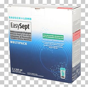 Bausch & Lomb Peroxide Contact Lenses Saline Solution PNG