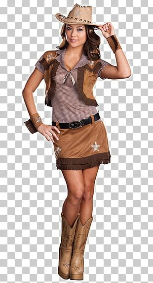 Halloween Costume Cowboy Clothing Girl PNG