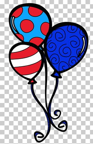The Cat In The Hat Balloon Birthday Cake PNG