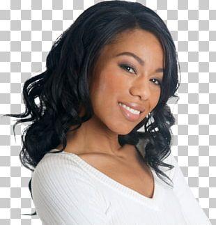 Black Hair Hair Coloring Long Hair Brown Hair Wig PNG