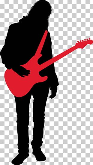 Rock And Roll Music Silhouette PNG