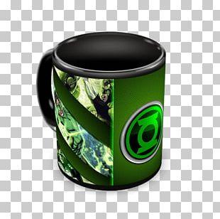 Green Mug PNG