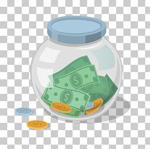 Saving Money Bank Jar PNG
