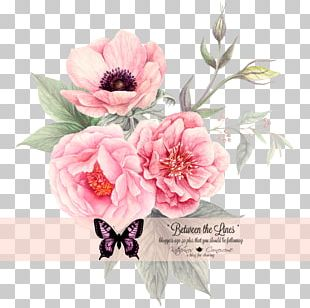Cut Flowers Peony Garden Roses Floral Design PNG