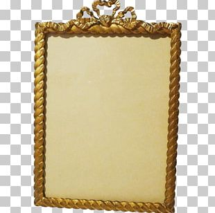 Frames Gold Plating Decorative Arts Rope PNG