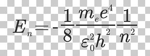 Momentum Equation Atomic Theory Number Bohr Model PNG