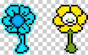 Realm Of The Mad God Pixel Art Flowey Flower PNG