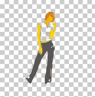 Cartoon Woman Illustration PNG