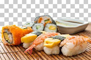 Sushi Sake Sashimi Japanese Cuisine Seafood PNG