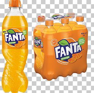 Orange Drink Fanta Orange Soft Drink Fizzy Drinks Sprite PNG