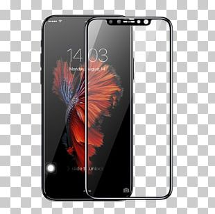 IPhone X Screen Protectors Mobile Phone Accessories Computer Monitors Tempered Glass PNG
