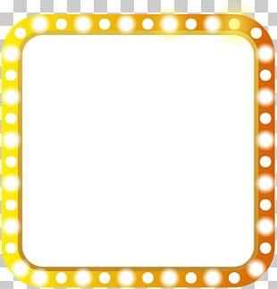 Light Film Frame PNG