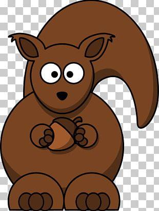 Squirrel Chipmunk Cartoon PNG