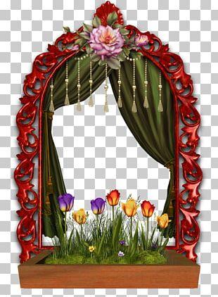 Floral Design Window Frames Freekibble Flower Box PNG
