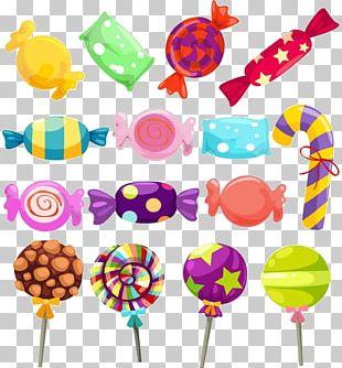 Lollipop Gummi Candy Candy Cane PNG