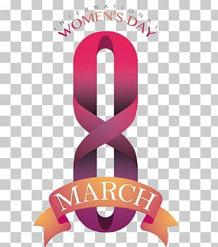 International Womens Day Flyer March 8 Illustration PNG