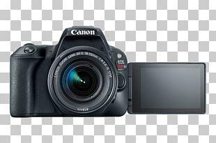Canon Eos Rebel SL2 DSLR Camera With 18-55mm + 75-300mm Dual Zoom Lens Kit Pro Bundle Canon EF-S 18–55mm Lens Digital SLR Canon EOS Rebel SL2 24.2 MP SLR PNG