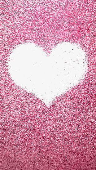 Pink Heart-shaped Background PNG