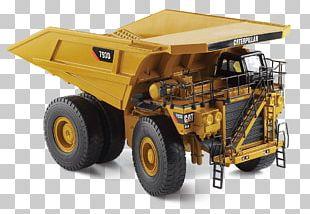Caterpillar Inc. Haul Truck Caterpillar 797F Die-cast Toy Dump Truck PNG