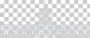White House Building Tax Reform Black And White PNG