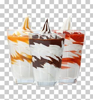 Sundae Ice Cream Soft Serve Food Chocolate Syrup PNG
