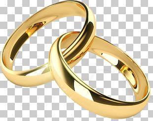 Wedding Ring Engagement Ring Gold PNG