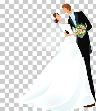 Bridegroom Cartoon Wedding PNG