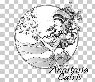 Cirque Du Mort: Volume One Drawing Line Art Artist Trading Cards Artium Ink PNG
