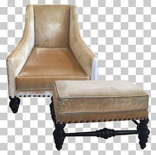 Club Chair Foot Rests Furniture Upholstery PNG