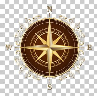 Compass Rose North Map PNG