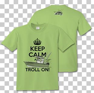T-shirt Keep Calm And Carry On Agriturismo ViviNatura Clothing PNG