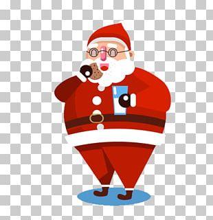 Santa Claus Christmas Ornament Illustration PNG