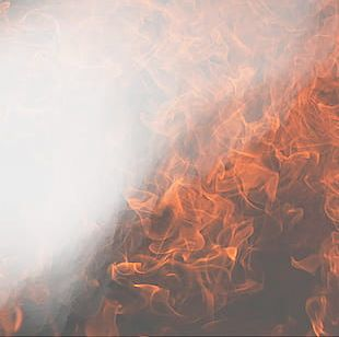 Flame Background Texture PNG