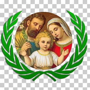 Holy Family Epiphany The Heavenly And Earthly Trinities PNG