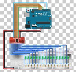 Arduino Sensor Electronics Circuit Diagram Electronic Circuit PNG