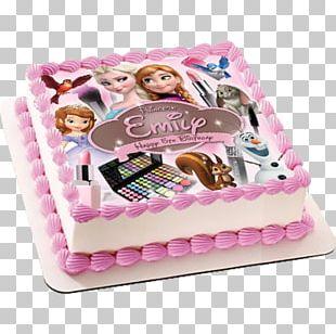 Birthday Cake Princess Cake Cupcake Frosting & Icing Torte PNG