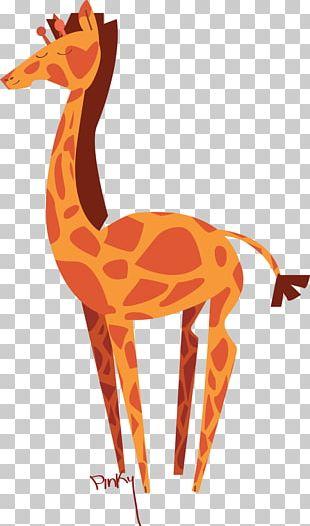 Northern Giraffe Animal Backpack Mammal PNG