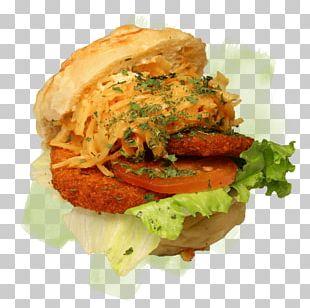 Veggie Burger Junk Food Breakfast Sandwich Schnitzel Slider PNG